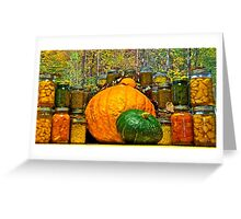 Autumn Treasures Greeting Card