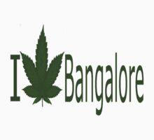 0043 I Love Bangalore by Ganjastan