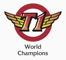 SKT T1 World Champions by LeagueTee