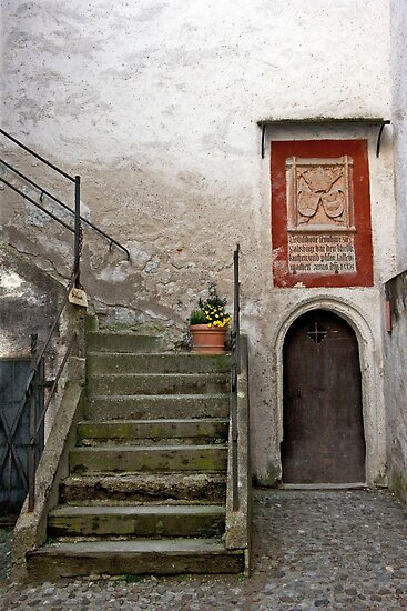 Sacristy Steps by phil decocco