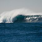 Huge wave at Long Reef, Sydney, Australia by Don Norris