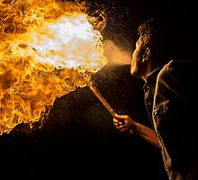 Breathing Fire by Mahmud  Alam
