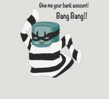 BMO the Bank Robber! (Adventure Time) by T.R Feather