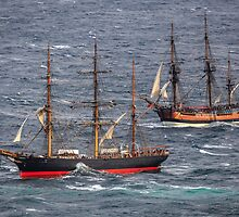 Tall Ships by Michael Clarke