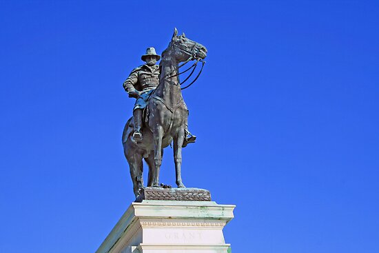 Ulysses S. Grant Guards The United States Capitol by Cora Wandel