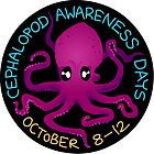 Cephalopod Awareness Days - Octopus Sticker by Dan & Emma Monceaux