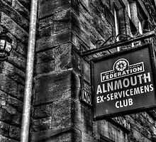 Alnmouth Ex-Servicemen's Club by Andrew Pounder