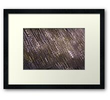 Jewel Ribbons in Violet, Mauve, Lavender and Lilac Framed Print