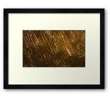 Golden Jewel Ribbons Framed Print