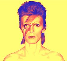 David Bowie - Aladdin Sane by loralcandy
