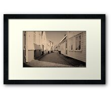 The Streets of Norway  Framed Print