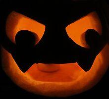 Scary Jack O Lantern by Jack Butcher