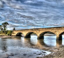 Alnmouth Bridge by Andrew Pounder