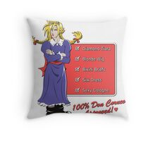 100% Don Corneo Approved! Throw Pillow