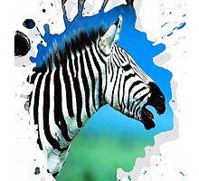 zebra by arteology