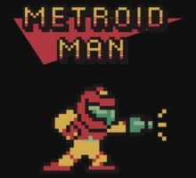Metroid Man by Donnie Illustration