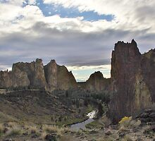 Smith Rock SP, Terrebonne, Oregon by Patricia Shriver