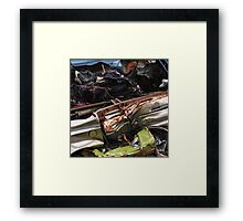 Complete with under-body protection Framed Print