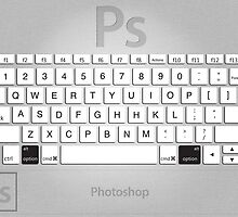 Photoshop Keyboard Shortcuts Metal Option by Skwisgaar