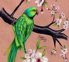 Among the Flowers by Kristyn Janelle