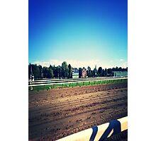 Saratoga Springs Racing Photographic Print