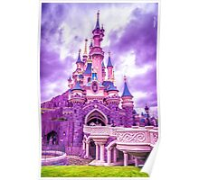 Sleeping Beauty Castle Poster