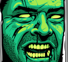Here's Zombie! Sticker