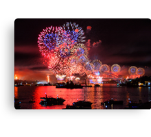 International Fleet Review Canvas Print
