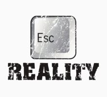 Escape Reality by magiktees