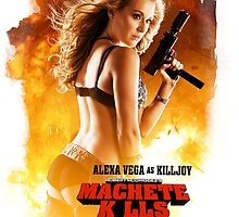 MACHETE KLLS - Girl from Spy Kids by Bucky Sentry