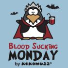 Blood Sucking Monday! - Vampire Penguin by Kokonuzz