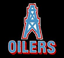 Houston Oilers logo by w00rdup