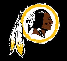 Washington Redskins logo by w00rdup