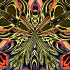 Psychedelic Butterfly by ArtOfE