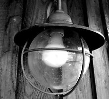 Black and White Lamp by crtjer