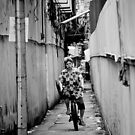 Bicycle Errands, Bangkok, Thailand by Norman Repacholi
