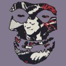 Misfit Crimson Ghost Bullet by sixxfeetunderr