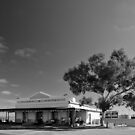 Isolated Hospitality - Olary, South Australia by Norman Repacholi