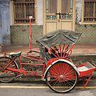Red Rickshaw by Ross Jardine