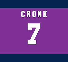 Cooper Cronk iPhone Cover by nweekly
