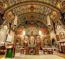 The Altar of St Mary's. Bairnsdale by John Sharp
