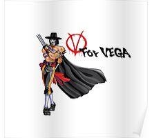 V for Vega Poster