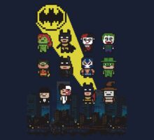 Gotham Heroes and Villains by droidwalker