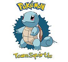 Team Squirtle - Pokemon X Y Photographic Print