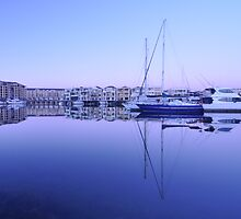 Mirror Marina  by Douglas Bell