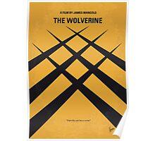 No222 My Wolverine minimal movie poster Poster
