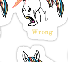 Unihorn 101 Sticker