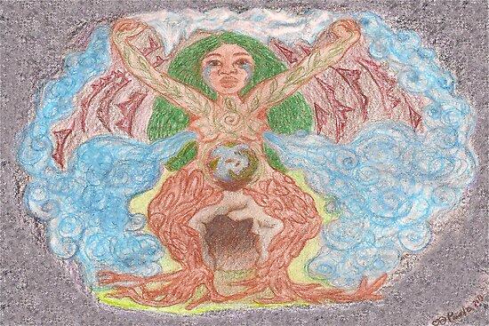 Goddess - Gaia by Paola Suarez