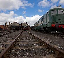Didcot Railway Yard by Simon Lawrence