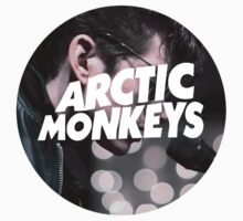 Arctic Monkeys - Alex Turner Live Logo by cbazoe
